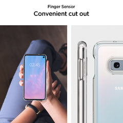 Spigen Galaxy S10e Case Ultra Hybrid Crystal Clear 609CS25838