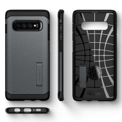 Spigen Galaxy S10+ Case Tough Armor Graphite Gray 606CS25771