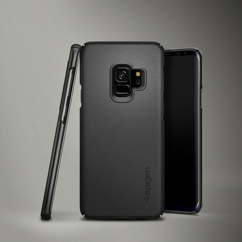 Spigen Galaxy S9 Case Thin Fit Graphite Gray 592CS22823