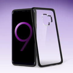 Spigen Galaxy S9 Case Ultra Hybrid Matte Black 592CS22837