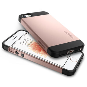 Spigen iPhone SE/5S/5 Case Slim Armor Rose Gold 041CS20176
