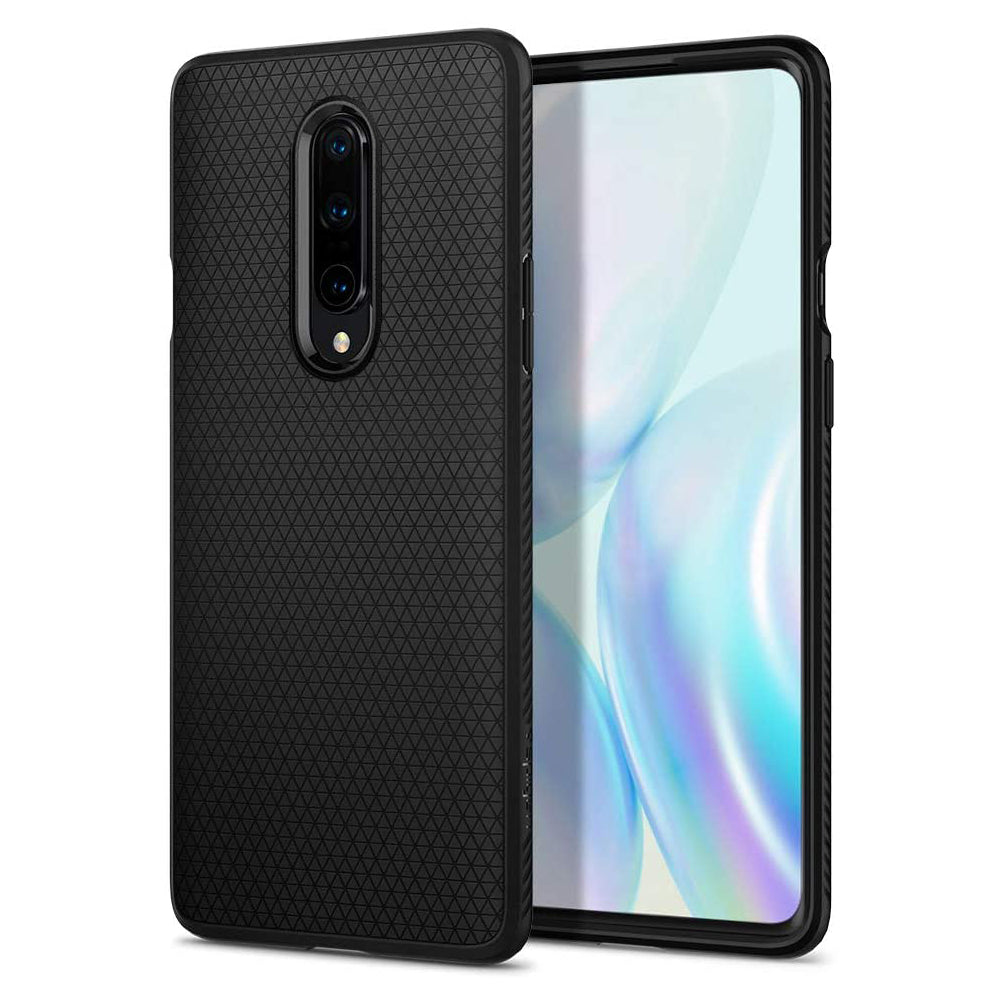 Spigen OnePlus 8 Case Liquid Air Matte Black ACS00827