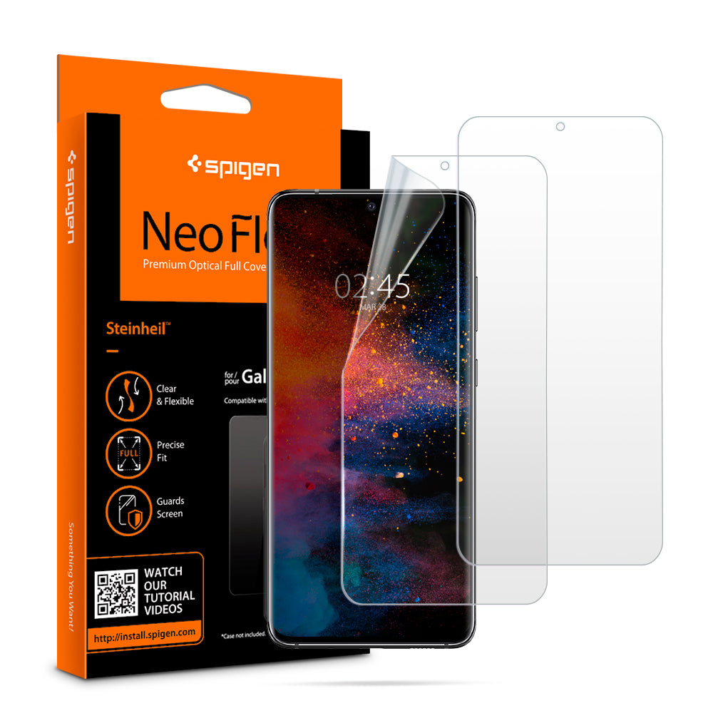 Spigen Galaxy S20 Plus Screen Protector Neo Flex HD (2 Pack) AFL00644