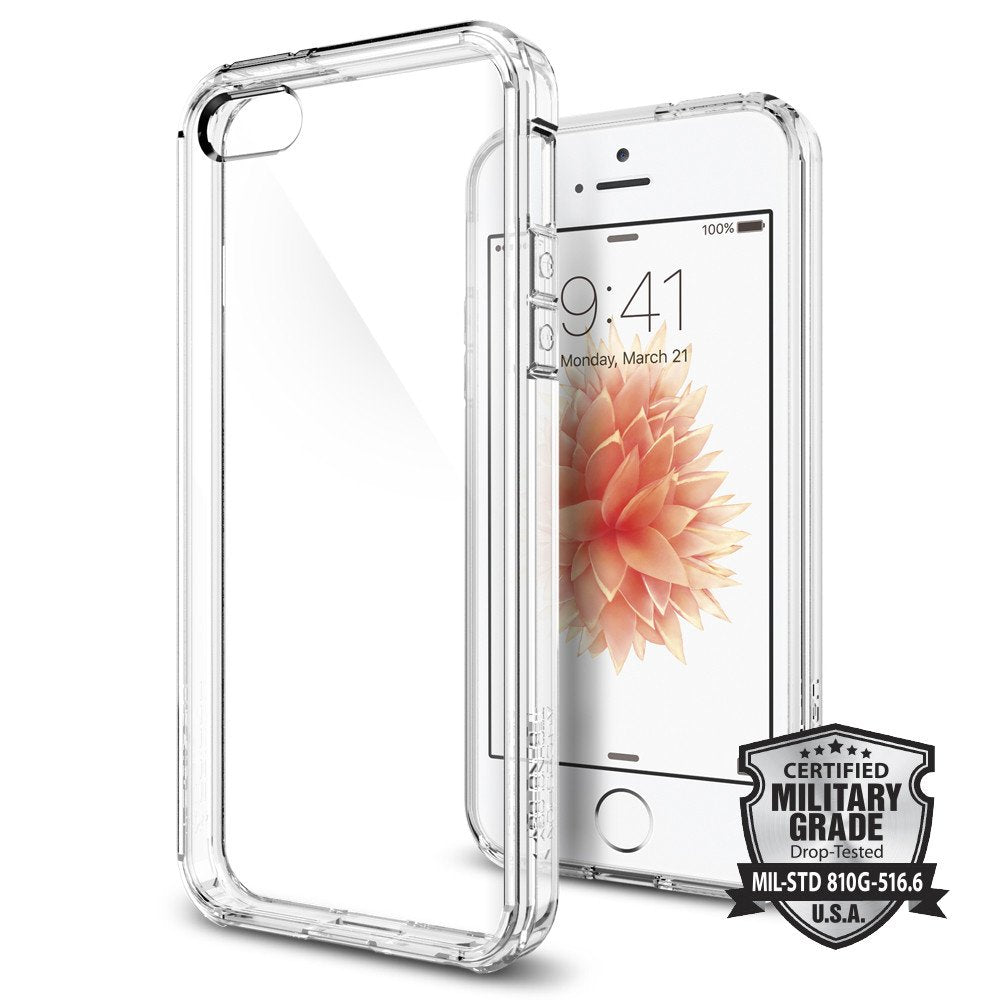 Spigen iPhone SE/5S/5 Case Ultra Hybrid Crystal Clear 041CS20171
