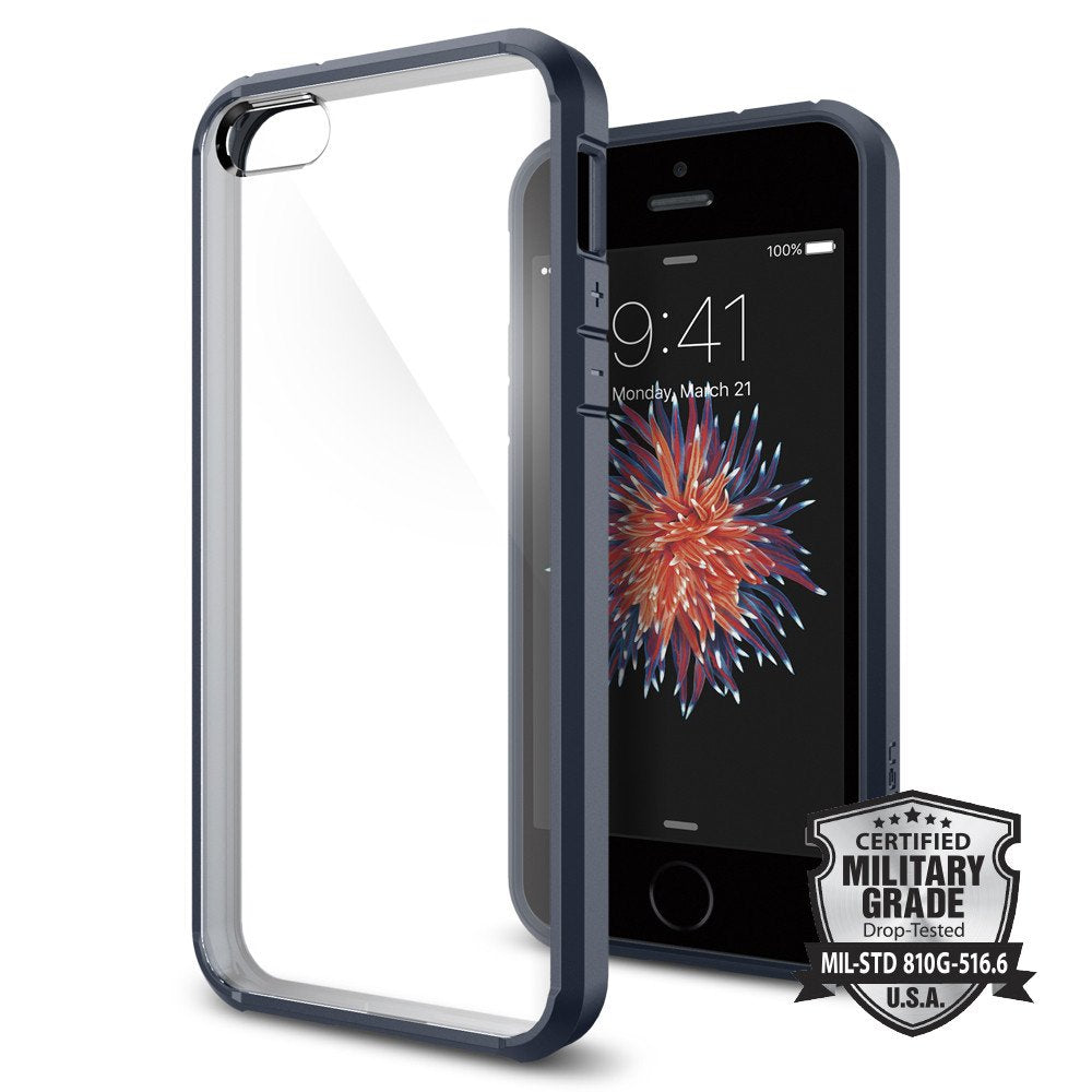 Spigen iPhone SE/5S/5 Case Ultra Hybrid Black 041CS20173