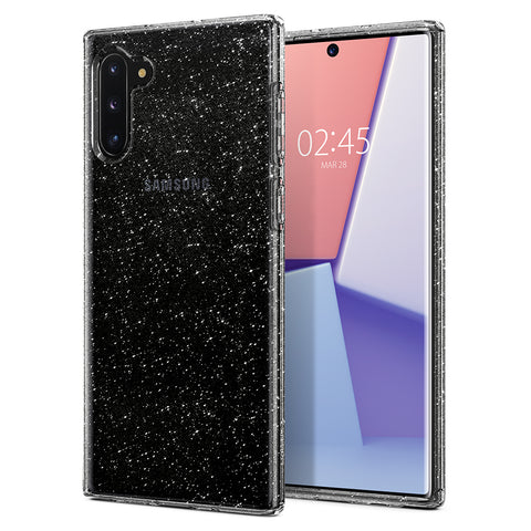 Spigen Galaxy Note 10 Case Liquid Crystal Glitter Crystal Quartz 628CS27371