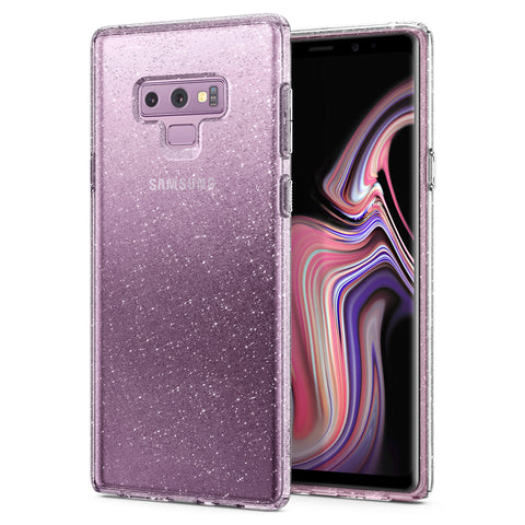 Spigen Galaxy Note 9 Case Liquid Crystal Glitter Crystal Quartz 599CS24570