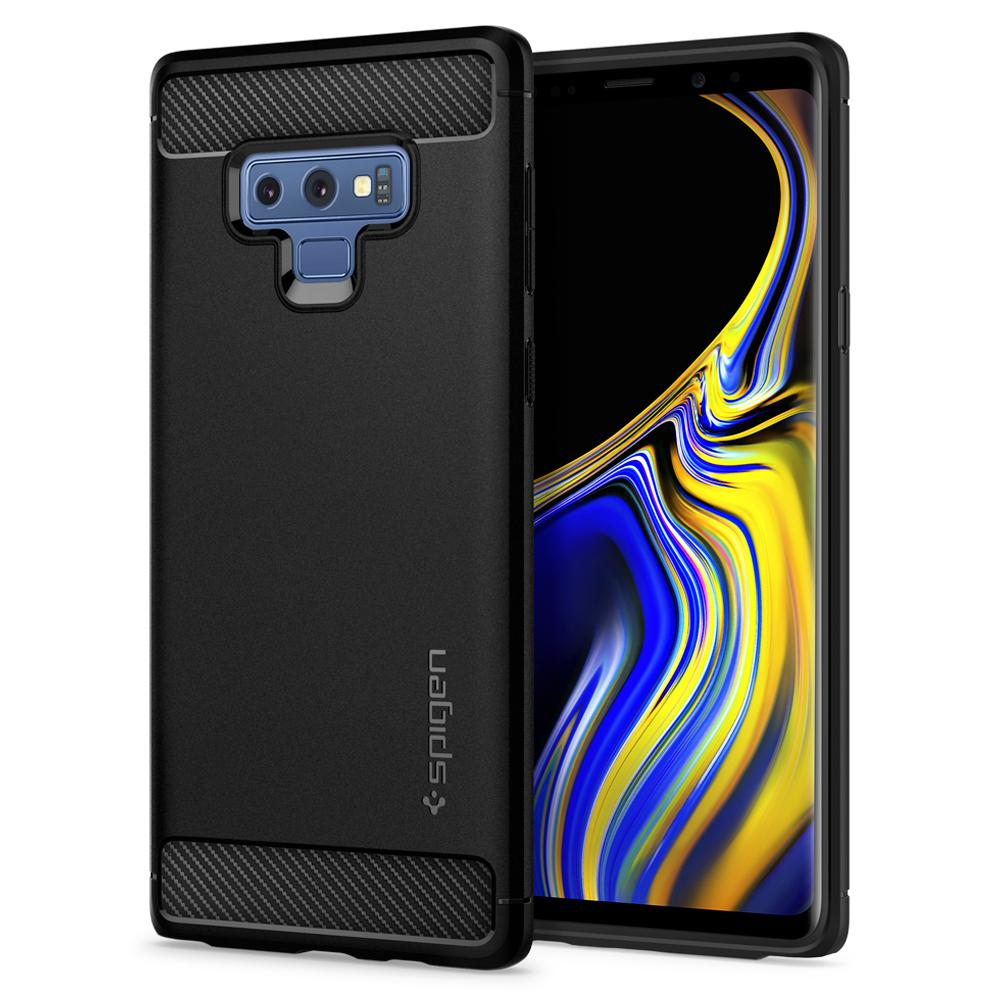 Spigen Galaxy Note 9 Case Rugged Armor Black 599CS24572