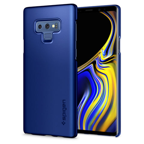 Spigen Galaxy Note 9 Case Thin Fit Ocean Blue 599CS25051