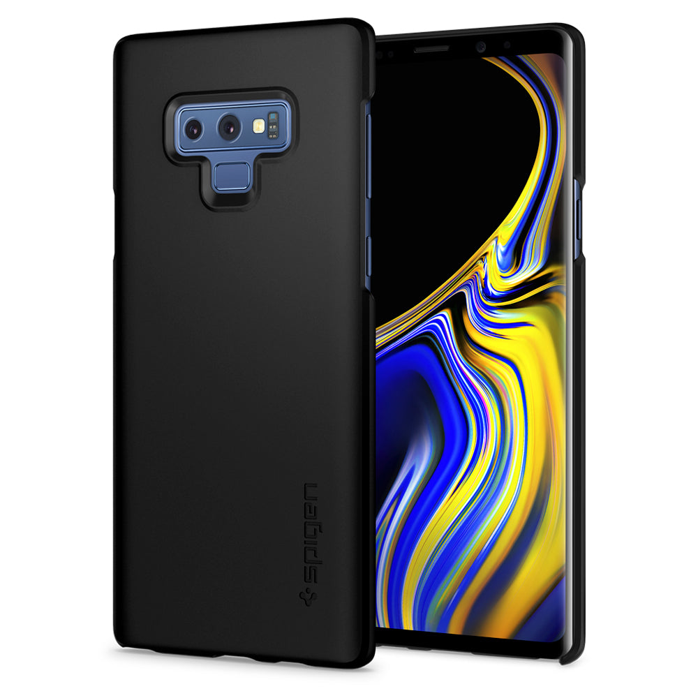 Spigen Galaxy Note 9 Case Thin Fit Black 599CS24566