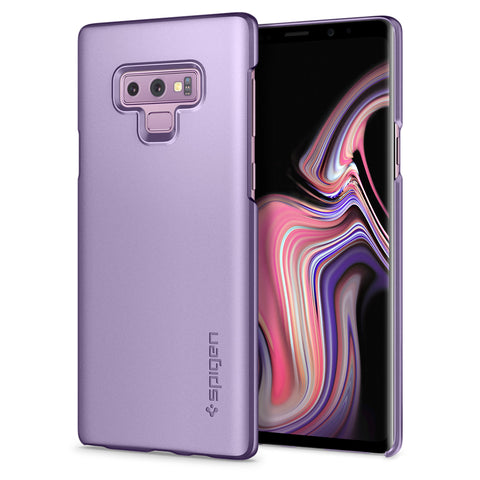 Spigen Galaxy Note 9 Case Thin Fit Lavender 599CS24568