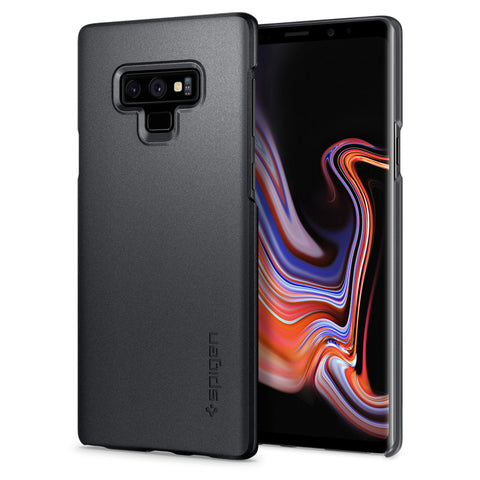 Spigen Galaxy Note 9 Case Thin Fit Graphite Gray 599CS24567