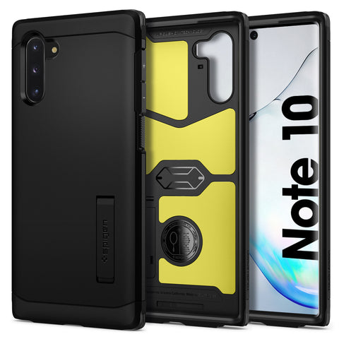Spigen Galaxy Note 10 Case Tough Armor Black 628CS27380