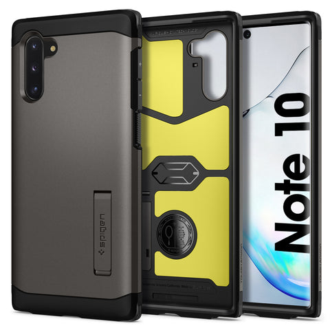 Spigen Galaxy Note 10 Case Tough Armor Gunmetal 628CS27379