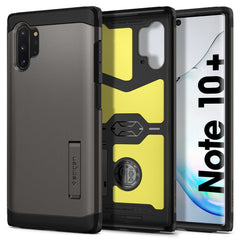 Spigen Galaxy Note 10 Plus Case Tough Armor XP Gunmetal 627CS27336