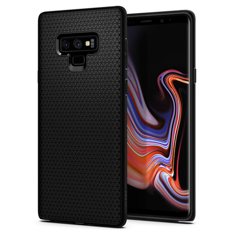 Spigen Galaxy Note 9 Case Liquid Air Matte Black 599CS24580