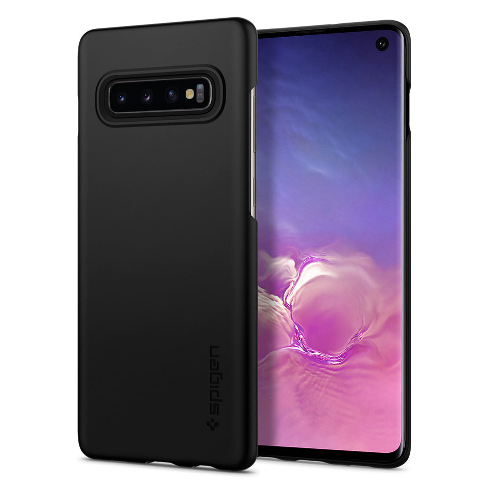 Spigen Galaxy S10 Case Thin Fit Black 605CS25791