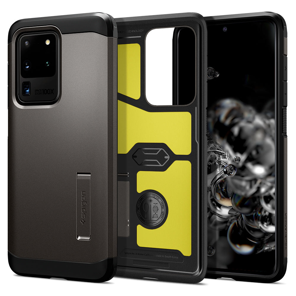 Spigen Galaxy S20 Ultra Case Tough Armor Gunmetal ACS00717