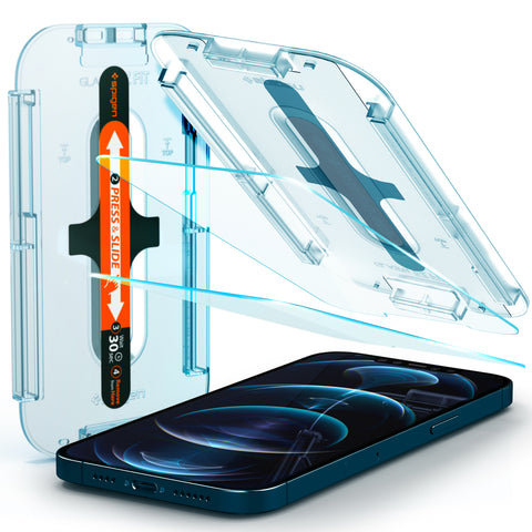 iPhone 12 Pro Max Screen Protector EZ FIT GLAS.tR SLIM