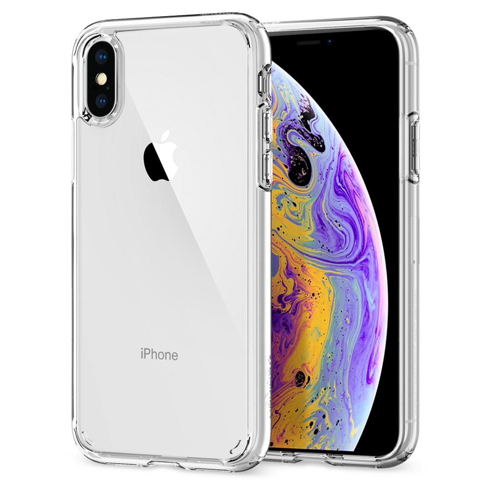 Spigen iPhone XS / X Case Ultra Hybrid Crystal Clear 063CS25115