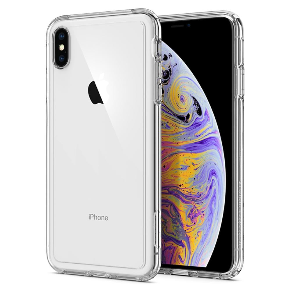 Spigen iPhone XS Max Case Crystal Hybrid Crystal Clear 065CS25160