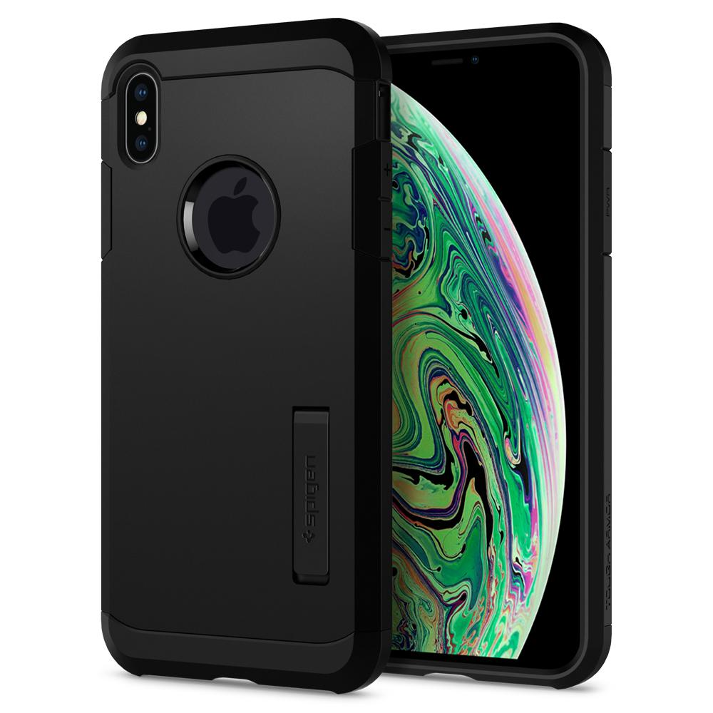 Spigen iPhone XS Max Case Tough Armor Black 065CS25130