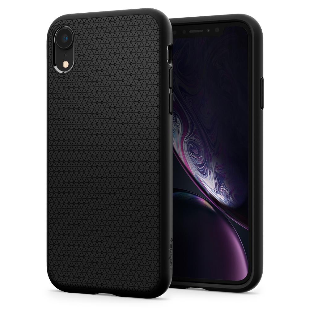 Spigen iPhone XR Case Liquid Air Matte Black 064CS24872