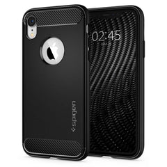Spigen iPhone XR Case Rugged Armor Matte Black 064CS24871