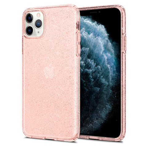 iPhone 11 Pro Max Case Liquid Crystal Glitter