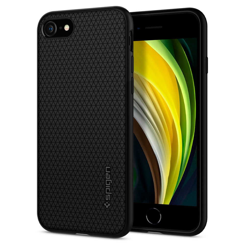 Spigen iPhone SE (2020) / iPhone 7 / iPhone 8 Case Liquid Air Matte Black 042CS20511