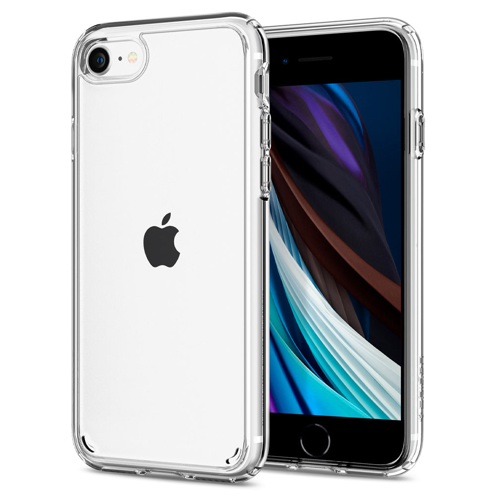 Spigen iPhone SE (2020) / iPhone 8 / iPhone 7 Case Ultra Hybrid 2 Crystal Clear 042CS20927