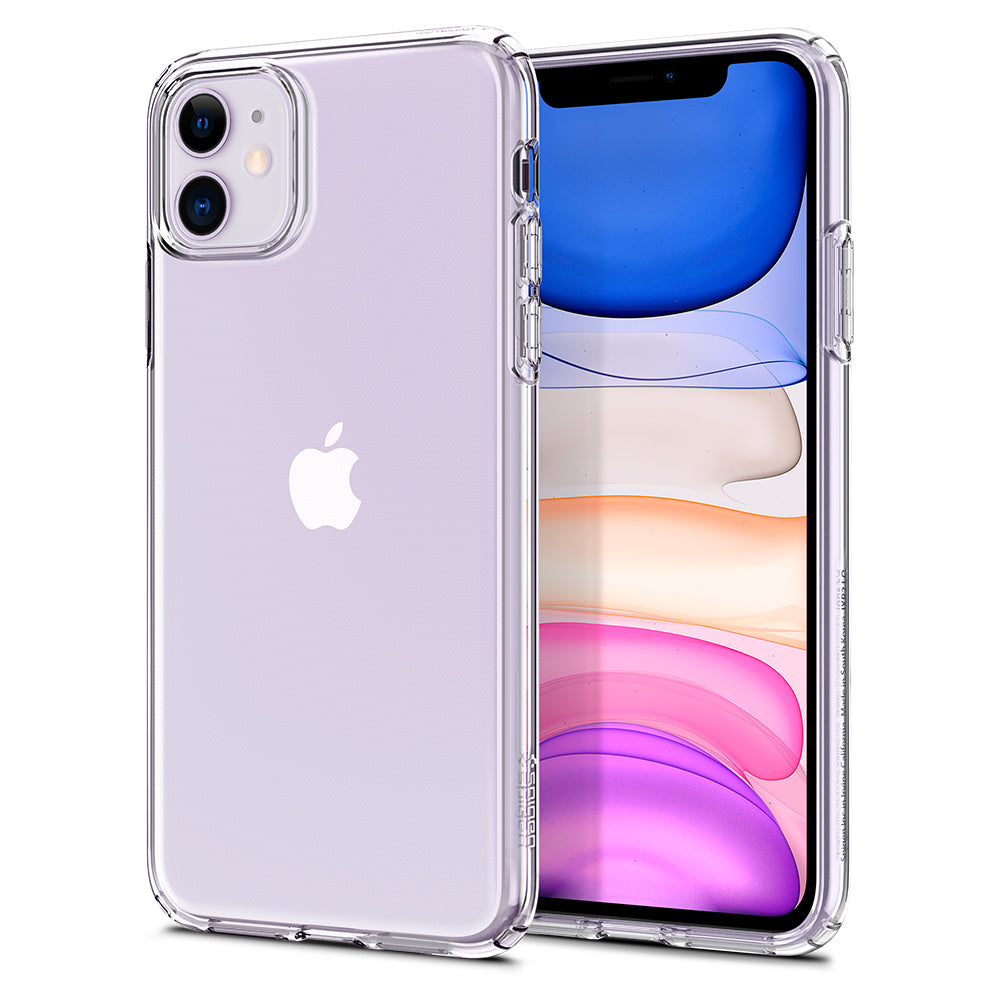 Spigen iPhone 11 Case Liquid Crystal Crystal Clear 076CS27179
