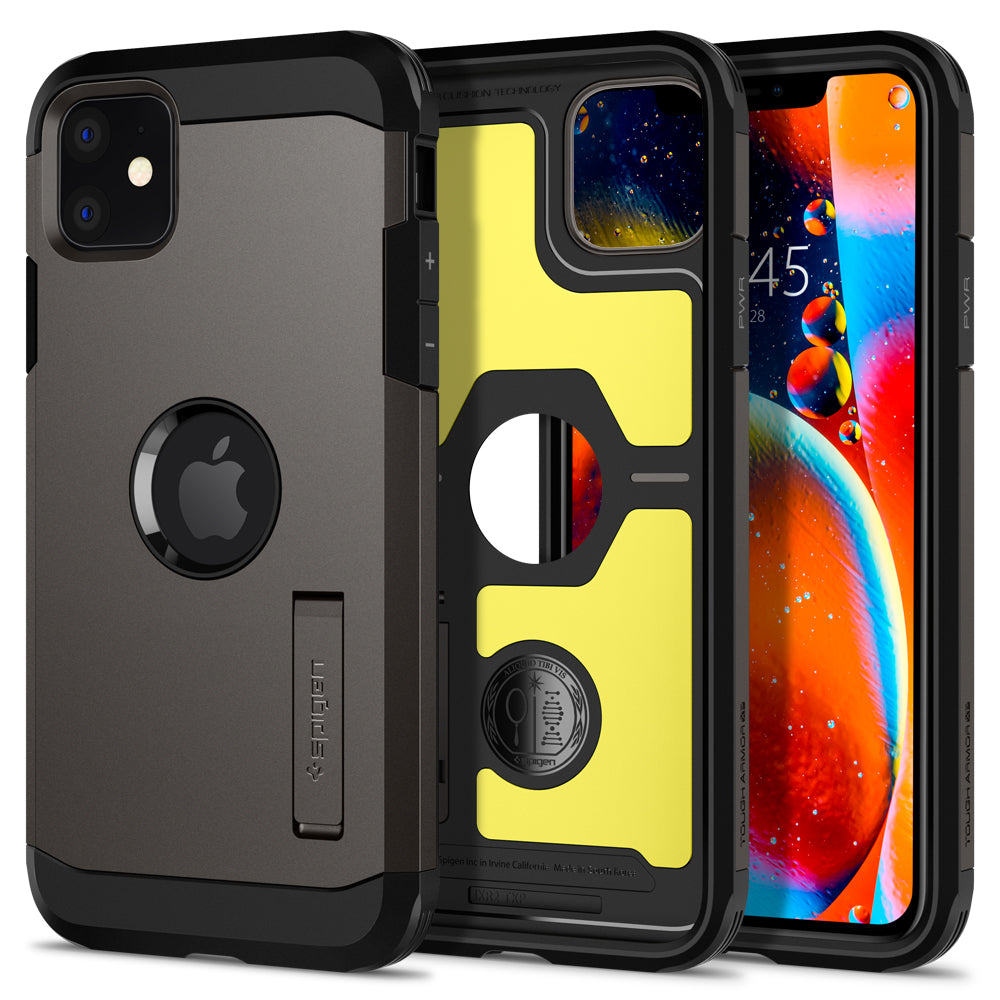 Spigen iPhone 11 Case Tough Armor XP Gunmetal 076CS27189