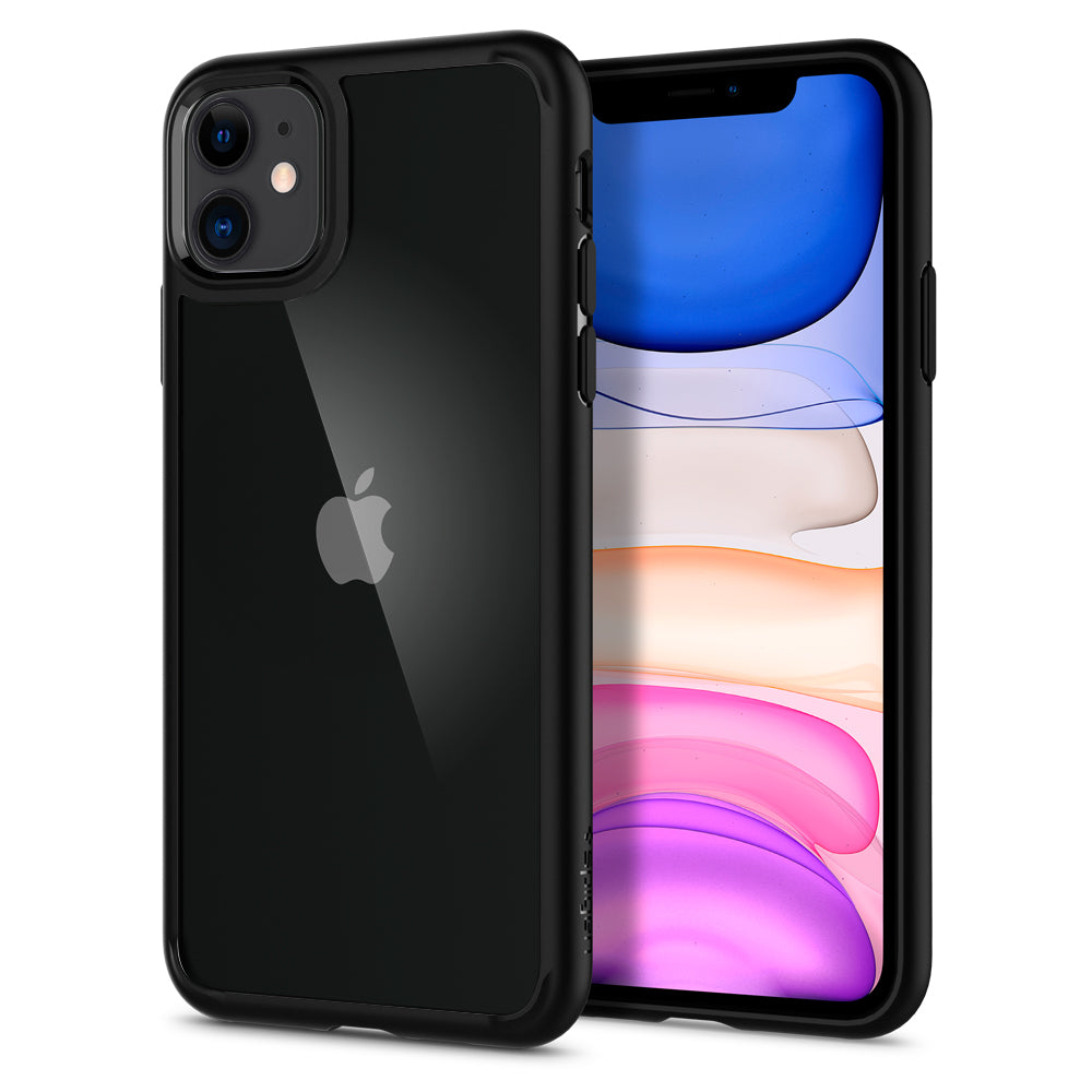 Spigen iPhone 11 Case Ultra Hybrid Matte Black 076CS27186
