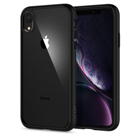 Spigen iPhone XR Case Ultra Hybrid Matte Black 064CS24874