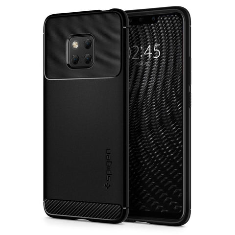 Spigen Huawei Mate 20 Pro Case Rugged Armor Matte Black L34CS25064