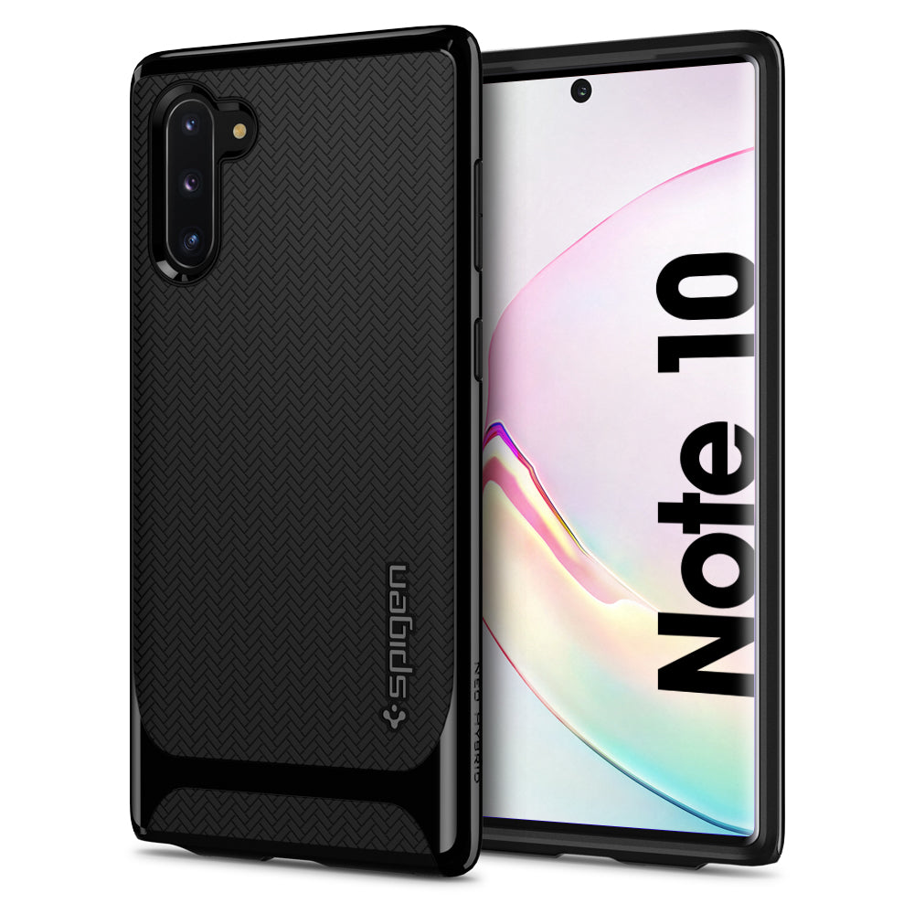 Spigen Galaxy Note 10 Case Neo Hybrid Midnight Black 628CS27381