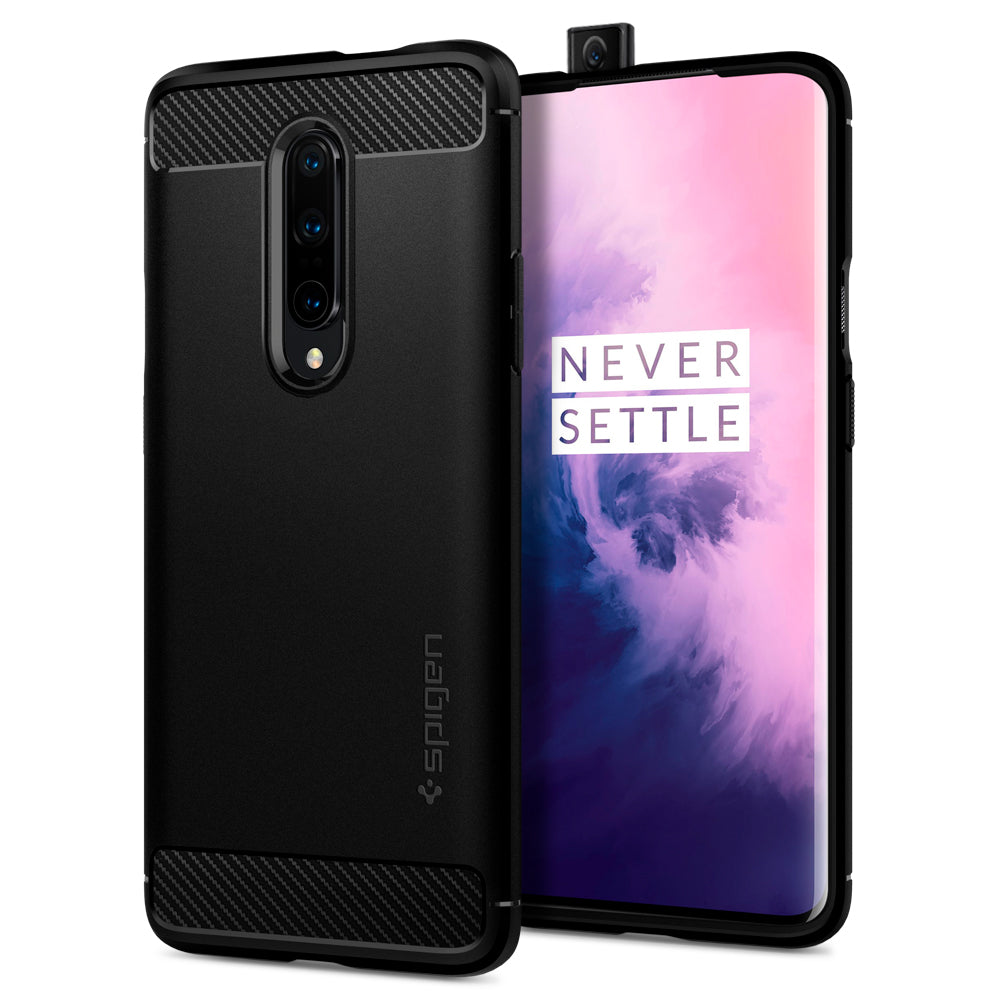 Spigen OnePlus 7 Pro Case Rugged Armor Matte Black K09CS26390