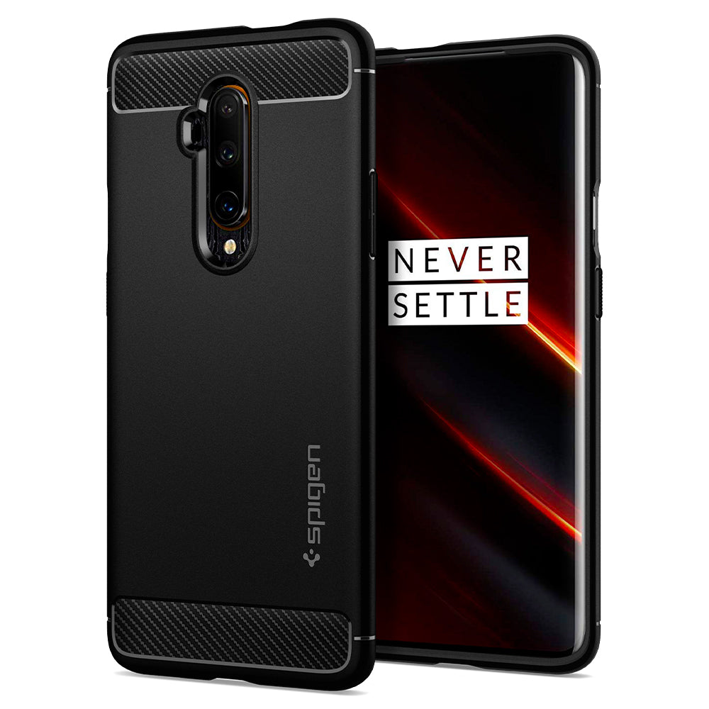 Spigen OnePlus 7T Pro Case Rugged Armor Matte Black ACS00312