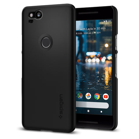 Spigen Google Pixel 2 Case Thin Fit Black F16CS22277