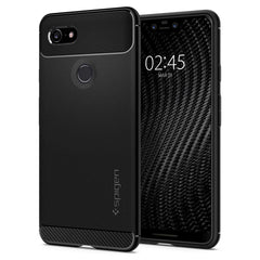 Spigen Google Pixel 3 XL Case Rugged Armor Matte Black F20CS25021