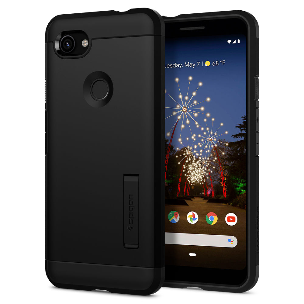 Spigen Pixel 3a Case Tough Armor Black F23CS25962
