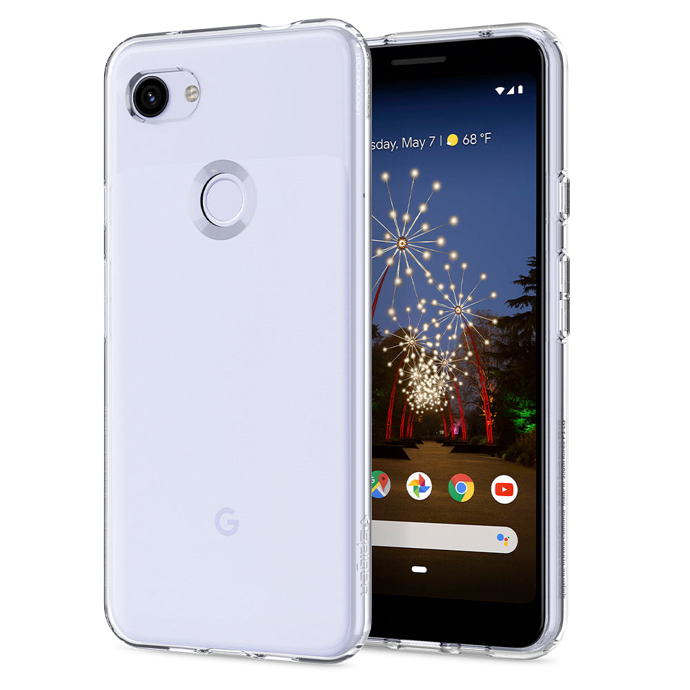 Spigen Pixel 3a XL Case Liquid Crystal Crystal Clear F22CS25958