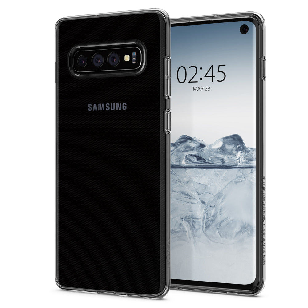 Spigen Galaxy S10 Case Liquid Crystal Crystal Clear 605CS25796