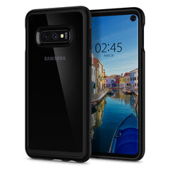 Spigen Galaxy S10e Case Ultra Hybrid Matte Black 609CS25839
