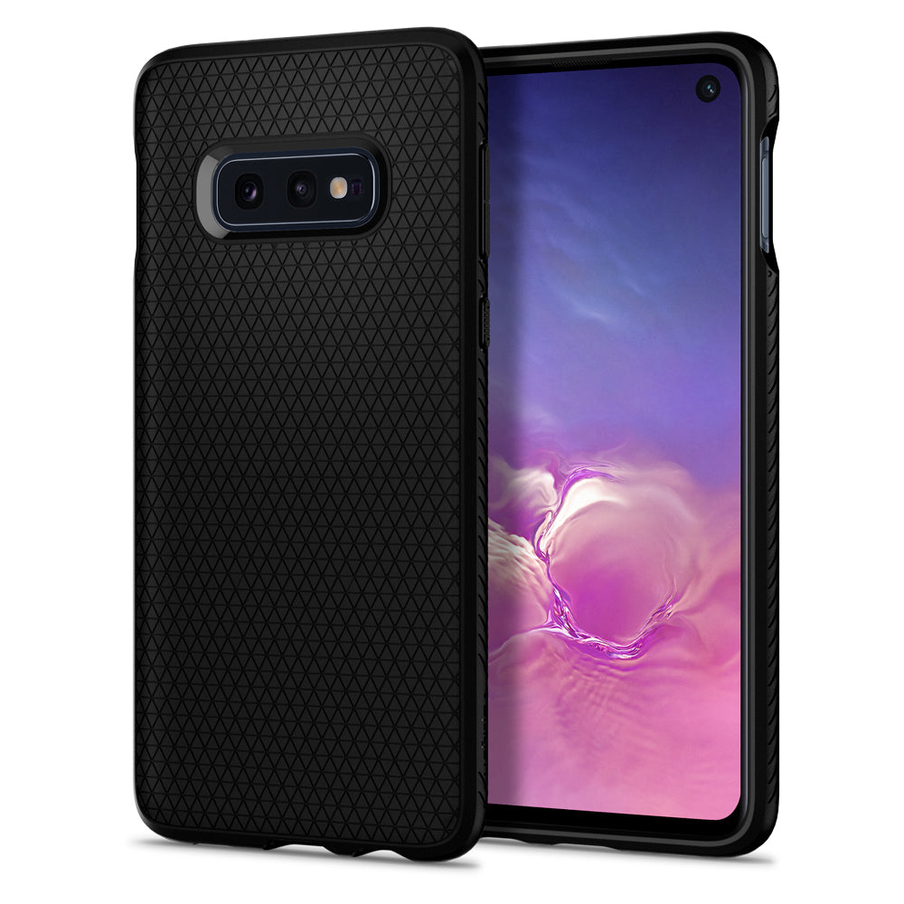 Spigen Galaxy S10e Case Liquid Air Matte Black 609CS25836
