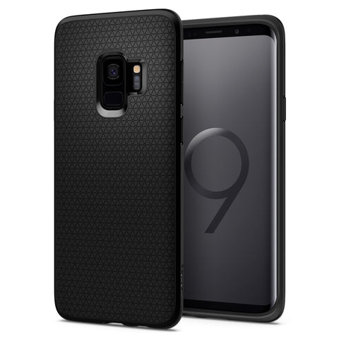 Spigen Galaxy S9 Case Liquid Air Matte Black 592CS22833