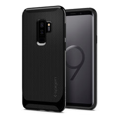 Spigen Galaxy S9+ Case Neo Hybrid Shiny Black 593CS22942