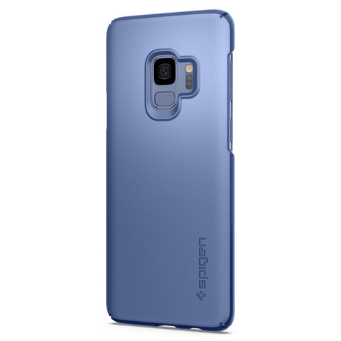 Spigen Galaxy S9 Case Thin Fit Coral Blue (SF) 592CS22822