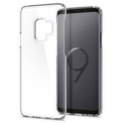 Spigen Galaxy S9 Case Thin Fit Crystal Crystal Clear 592CS22874